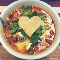Picture of CHICKEN TORTILLA SOUP