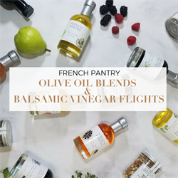 Picture of FRENCH PANTRY OIL & VINEGAR FLIGHT (18)