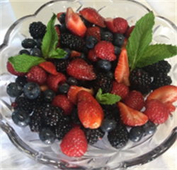 Picture of Berry Balsamic Salad by Chandra Brower